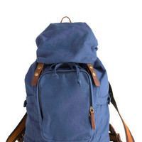 That Perfect Blue Backpack