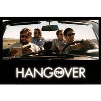 The Hangover Movie (Group in Car) Poster Print