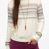 Urban Outfitters - Pins and Needles Reverse Fair Isle Sweater