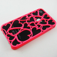 Pink Hollow Heart BACK C...