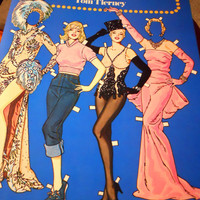 Marilyn Monroe Paper Dolls by ZoeAmaris on Etsy