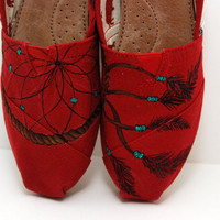 Dreamcatcher - CUSTOM TOMS SHOES