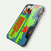 Vintage Mystery Machine Van Scooby Doo Available iPhone 5 Case, iPhone 4 Case, iPhone 4s Case, iPhone 4 Cover, Hard iPhone 4 Case ipc40