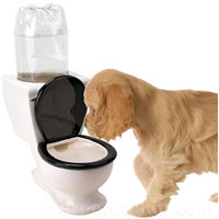 DOG TOILET WATER DISH
