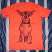 Chihuahua T-Shirt -- Chihuahua Shirt Dog T-Shirt Puppy Shirt  Women T-Shirt Men T-Shirt Unisex T-Shirt Short Sleeve Animal Shirt Size M