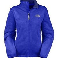 Amazon.com: The North Face Osito Fleece Jacket - Women's Vibrant Blue, L: Clothing
