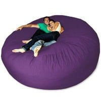 Amazon.com: Micro Suede Giant Bean Bag Chair: Home &amp; Kitchen