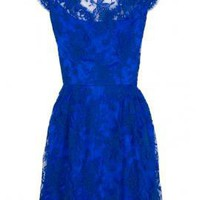 Silk Satin and Lace Dress - Dresses - Clothing - Womens