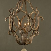 Driftwood Baroque Style Chandelier