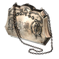 Purse with Chain 1880s :: Vintage Jewelry :: Curiosities :: Alexis Bittar
