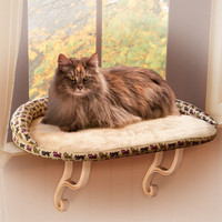 K&H Pet Products Deluxe Kitty Sill with Bolster - Cat - Boutique - PetSmart