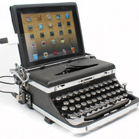 USB Typewriter  iPad Dock and Computer Keyboard  by usbtypewriter