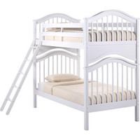 Classic Bunk Bed | Basics White Collection | Birch Hardwood | FOW