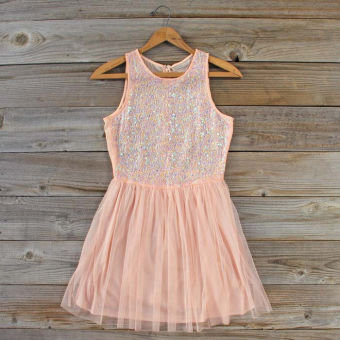 Frosted Tulip Dress, Sweet Women's Party Dresses