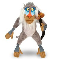 "Amazon.com: Disney Store The Lion King 16"" Rafiki Plush Stuffed Animal Toy: Toys & Games"