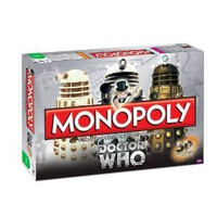 Amazon.com: Monopoly: Dr. Who Edition 50th Anniversary Collector&#x27;s Edition: Toys &amp; Games
