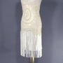 The Millie Cream : 1920's Style Dress