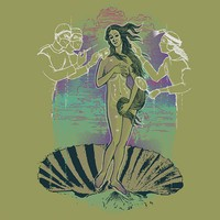 $9.50 The Rebirth of Venus - Threadless.com - Best t-shirts in the world