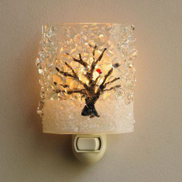 VivaTerra - Wintry Birch Tree Nightlight - VivaTerra