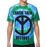 Odd Future Trash Talk Tie Dye Tee Shirt