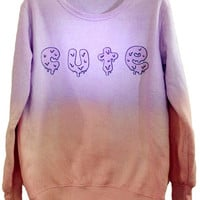 CUTE Gradient Sweater