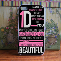 One direction  iPhone 4S and iPhone 4 Case Cover by DanazDesigns