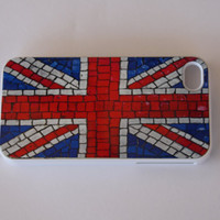 Hard iPhone Case England Flag British Custom by CreateItYourWay
