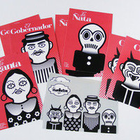 Los Mantudos ? Postcard Set