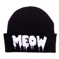 Meow Beanie Hat | KILL STAR