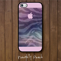 iPhone 5 Case - Dreaming Zebra in Pink