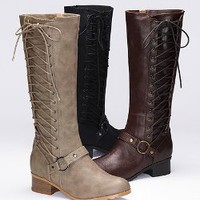 Side-lace Riding Boot - Colin Stuart - Victoria's Secret