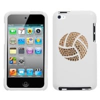 Amazon.com: White and White Crystal Rhinestone Bling Bling Volleyball Logo for Ipod Touch 4th Generation Ipod Touch 4 8gb 32gb 64gb: Everything Else