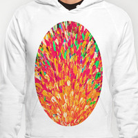 NEON SPLASH - WOW Intense Dash of Cheerful Color, Bold Water Waves Nature Lovers Modern Abstract  Hoody by EbiEmporium | Society6