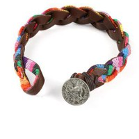 Braided Rainbow Bracelet | Cute Bracelets at Pink Ice