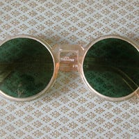 Vintage Sunglasses Made in the 1970's But Perfect For a 1920's Flapper/ Pink Frames