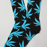 HUF The Plant Life Socks in Black Cyan Blue : Karmaloop.com - Global Concrete Culture