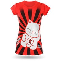 ThinkGeek :: Lucky Kitty Babydoll