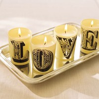 Love Votive Candle Gift Set | Pottery Barn