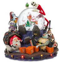 Deluxe Tim Burton's The Nightmare Before Christmas Snowglobe | Snowglobes (Full Size) | Disney Store
