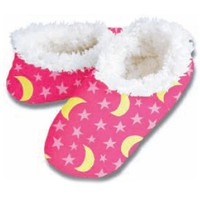 Snoozies Stars and Moons Slipper S-XL No Skid Footwear