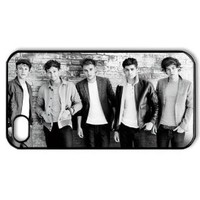 Amazon.com: CTSLR Music & Singer Series Protective Hard Case Cover for iPhone 4 & 4S - 1 Pack - One Direction - We Are Together 5: Cell Phones & Accessories