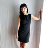 Little black dress - black fitted dress mini dress black formal dress womens dress