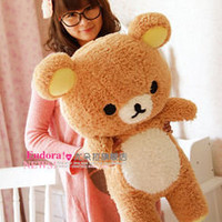 San-x Rilakkuma Relax Bear Cute Soft 50cm Pillow/Plush/Doll