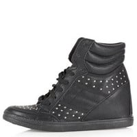 ACROBATICS Stud Hi-Top Trainers - Comic Girl  - Collections