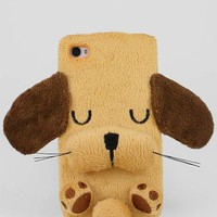 Fuzzy puppy iphone case