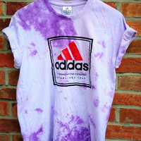 Cryptic Cult — pastel tie dye ADIDAS originals t shirt