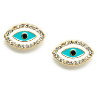 Pree Brulee - Evil Eye Earrings