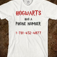 You Can Call Hogwarts!! - Text First
