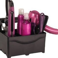 Amazon.com: STYLEAWAY - BLACK; Curling Iron, Flat Iron, Blow Dryer, Hair Styling Products Holder / Hanger: Home & Kitchen