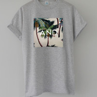 ANDCLOTHING  Tropical AND Tee
